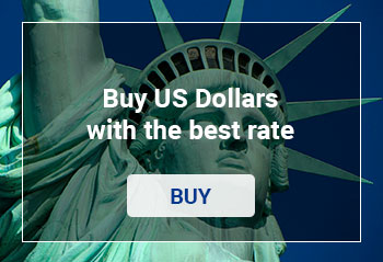 Buy US Dollars with the best rate