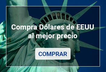 Compra Dólares de Estados Unidos al mejor precio.