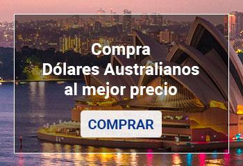 Comprar Dólares Australianos online