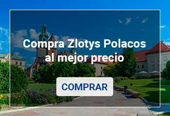 Comprar Zloty Polaco por Internet al mejor precio