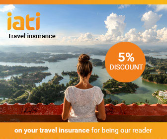 5% discount on your travel insurance with IATI