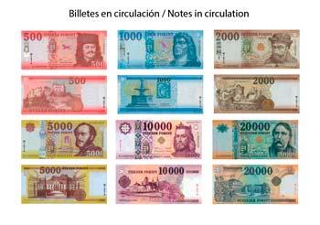 Billetes de Florín Húngaro en circulación