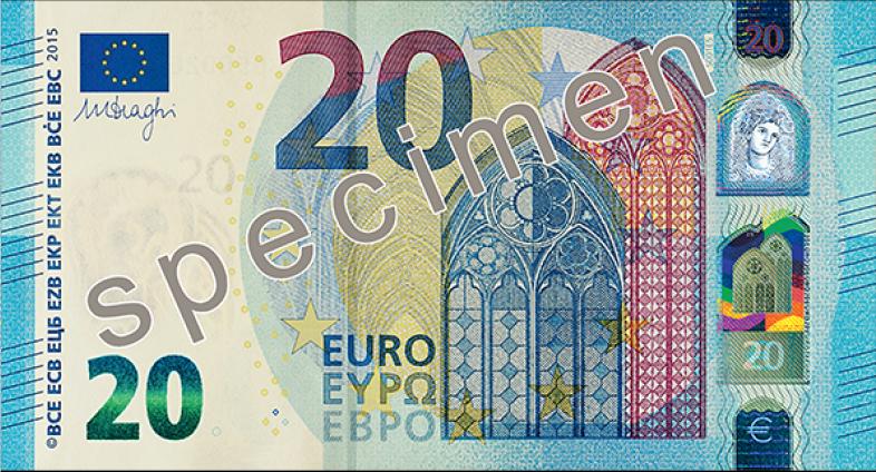 Nuevo billete de 20 Euros - Serie Europa