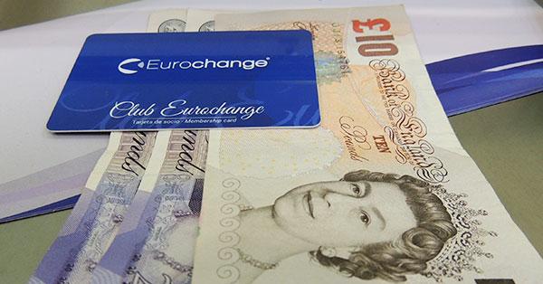Compra y venta de divisas en Eurochange